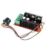 KKmoon Einstellbar 10-50V/40A/2000W DC Motor Speed Control PWM HHO RC Controller 12V 24V 36V 40V 50V...