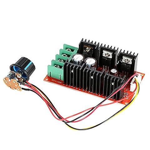 KKmoon Adjustable 10-50V/40A/2000W DC Motor Speed Control PWM HHO RC Controller 12V 24V 36V 40V 50V Speed Adjuster