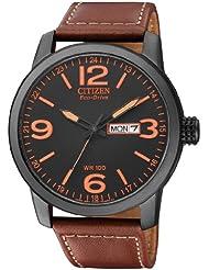 Citizen Herren-Armbanduhr Analog Quarz Leder BM8476-07EE
