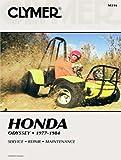 Clymer riparazione manuale per Honda ATV Odyssey fl25077–84