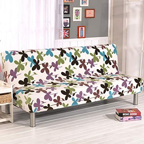 D&LE Sin Brazos Funda de sofá, Poliéster Licra Stretch Protector de sofá...
