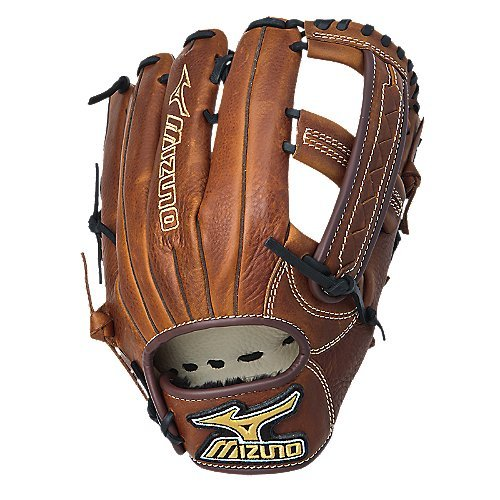 Mizuno GMVP1250S1 MVP Softball Fielder's Mitt (Copper, 12.50-Inch, Left Handed Throw) -