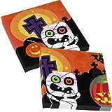 20 Servietten * HALLOWEEN KIDS * für gruselige Mottopartys // Kinder Geburtstag Party Napkins Oktober Spinne Kürbis Skelett