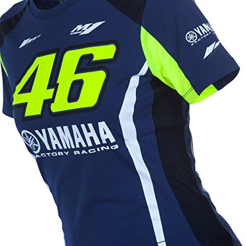 Valentino Rossi Vr46 Moto Gp M1 Yamaha Racing Damen T Shirt