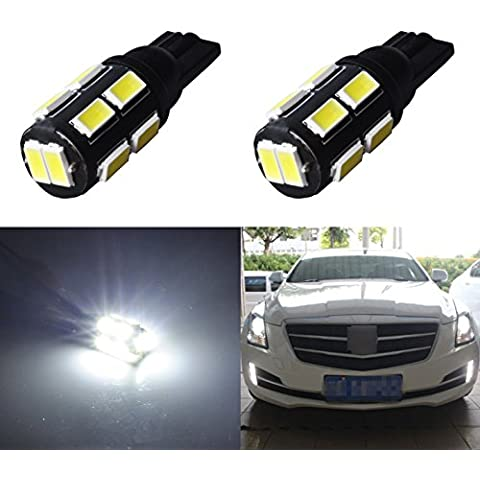 AGLINT de 12 voltios del coche T10 Intermitente 5630 FPC Luz trasera LED Auto Por Pack de 2