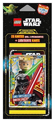 8e50a91ce Top Media 180255 Lot de 5 Cartes Lego Star Wars Multicolore
