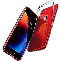 Coque iPhone 7, Coque iPhone 8, Spigen® [Liquid Crystal] Ultra Mince Premium TPU Silicone [Crystal Clear] Premium transparent / Exact Fit / NO Bulkiness Souple Coque Pour iPhone 7 (2016) et iPhone 8 (