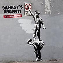 Banksy 2019 Square Wall Calendar