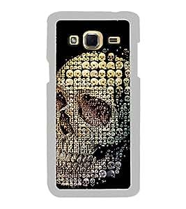 Skull of Skulls 2D Hard Polycarbonate Designer Back Case Cover for Samsung Galaxy J3 2016 :: Samsung Galaxy J3 2016 Duos :: Samsung Galaxy J3 2016 J320F J320A J320P J3109 J320M J320Y