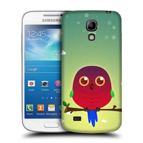 Case Fun Australian King Parrot di principessa snap-on cover posteriore rigida per Samsung Galaxy S4Mini (i9190)