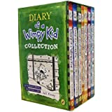 Diary of a Wimpy Kid Collection 7 Books Set Pack by Jeff Kinney RRP: £54.93 (Wimpy Kid) (Diary of a Wimpy Kid, Rodrick Rules, The Last Straw, Do-It-Yourself Book, Dog Days, The Ugly Truth, Cabin Fever)