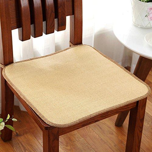 LJ&XJ Sommer Seat sitzkissen, Office Anti-Rutsch Cool Stuhl-Pads, Rattan Gemütlich Verschleißfeste, Esszimmer stühle Tatami Student hocker Sofa Bank-I 20 * 20inch -
