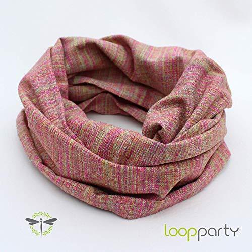 Loop-Schal Damen, 100% Bourette-SEIDE