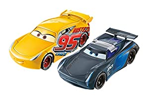Mattel Disney Cars FCX95 - Coches de Carrera de Cars 3 de Disney