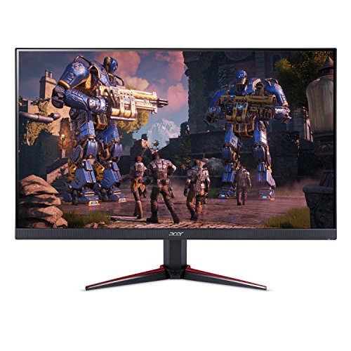 5. Acer Nitro 23.8-inch (60.45 cm) Full HD 1920 x 1080 IPS Monitor with AMD Radeon FREESYNC Technology - VG240Y bmiix (Black)