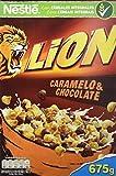 Lion Cereales con Crema de Caramelo y Chocolate - 675 g