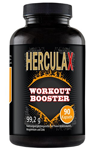 HERCULAX- cápsulas de aumento muscular  | Quemagrasas | Definición muscular️suplemento nutricional, rendimiento deportivo ✔ L Arginina BCAA |mujeres y hombres | 90 pastillas