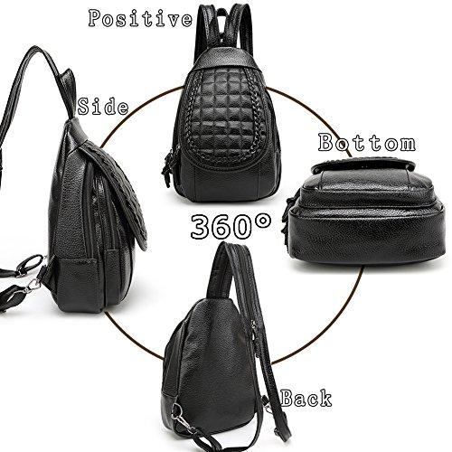 G-AVERIL GA1168-B1, Borsa a zainetto donna Black1 Black