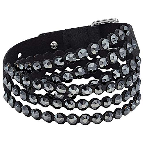 Swarovski Damen-Statement-Armbänder Edelstahl 5512512 (Collection Leder Damen)