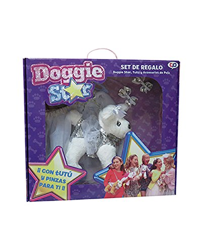 with tutu bag and hair clips White haired Terrier (Star Tutu)