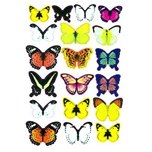 (Wandaufkleber Dreidimensionale niedliche Schmetterlingswand Aufkleber abnehmbar kreative Wand Sticker-H1-001 1 PC)