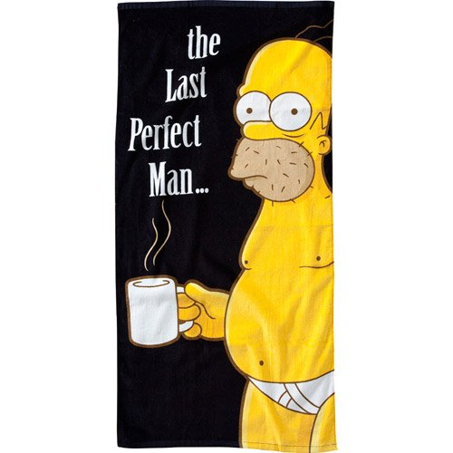 United Labels - Simpsons serviette de bain The Last Perfect Man 75 x 150 cm