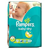 Pampers Baby Dry Taille Maxi 9-20kg Plus (41) - Paquet de 6