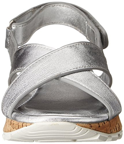 Skechers Cali Passi-frastagliata Star Dress Sandal Silver