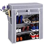 #5: Parasnath Prime Shoe 4-5 layers Utility Racks Cloth Cabinet, Shoe Rack Organiser, Colour - Random Colour (20 Year Warranty *MADE IN INDIA)