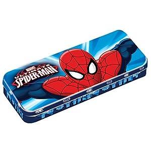 Ultimateimate Spiderman - Estuche de Marvel, Color Azul