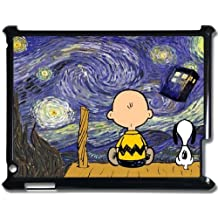 iPad 2 3 4 Cartoon Peanuts Snoopy The Starry Night Doctor Who Tardis Phone Personality Hard Case Cover at NewOne