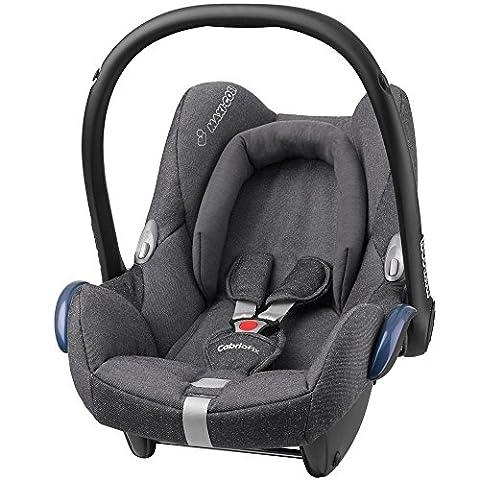 Maxi Cosi 61709560 Cabriofix Babyschale Gruppe 0+ (0-13 kg), mit Isofix, grau