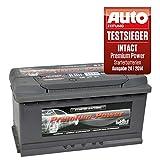 intact Premium Power PP100MF Autobatterie 12V 100Ah Testsieger GTÜ 2014