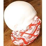 Rot und Weiß, ENGLAND-Fahne Georgskreuz Snood Schlauchschal 12 Weise zu tragen, Anleitung (Englisch)
