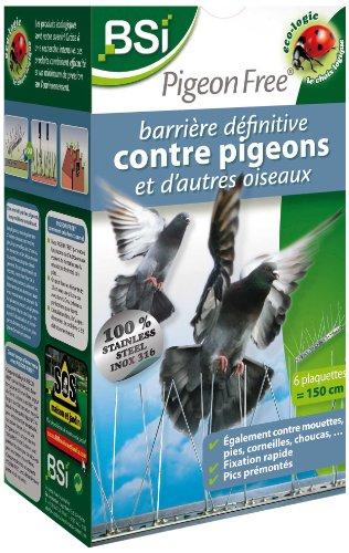 BSI 25527 Pigeon-Free Barriere définitive/écologique contre pigeons anti-nuisible