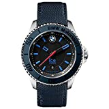 Ice-Watch Armbanduhr BMW Motorsport Unisex Blau Leder