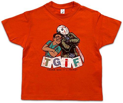 Urban Backwoods TGIF I Niños Chicos Kids T-Shirt