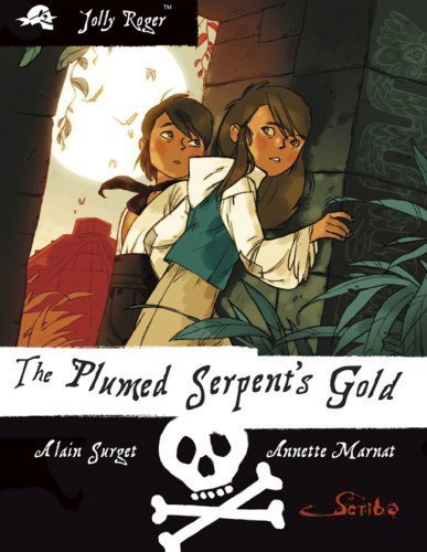 Portada del libro Jolly Roger Book Four: The Plumed Serpent's Gold by Alain Surget (2010-11-01)