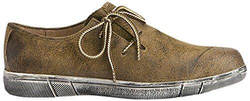 Stockerpoint Herren Schuh 1110 Sneakers, Braun (Havanna Gespeckt), 43 EU