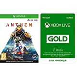 Anthem - Import Anglais - [Xbox One] +  Abonnement Xbox Live Gold 12 mois