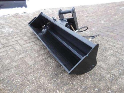 Pelle-Godet / Largeur: 1000mm / Adaptateur: MS03 / Hydraulique de Pivot / BBT-90009032