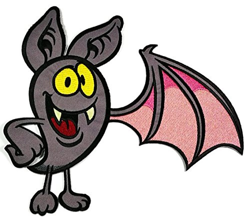 (Größe Fledermaus Halloween darcula Vampire Wild Animal Cartoon Glücksspiel Las Vegas Poker Jacket T Shirt Patch Sew Iron on gesticktes Badge Schild Kostüm)