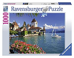 Ravensburger Aan het Meer Van Thun, Bern 1000pieza(s) - Rompecabezas (Bern, Jigsaw Puzzle, Paisaje, On Lake Thun, Bern, Niño/niña, 14 año(s), 700 mm)