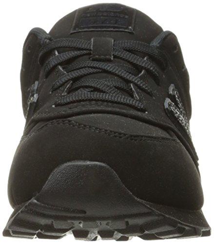 New Balance Unisex-Kinder Kl574wtg M Sneakers Black/Black (Ec)