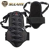 Gilet paraschiena per moto/motocross, abbigliamento protettivo con imbottitura in nylon per motocross, moto, sci, snowboard, skate