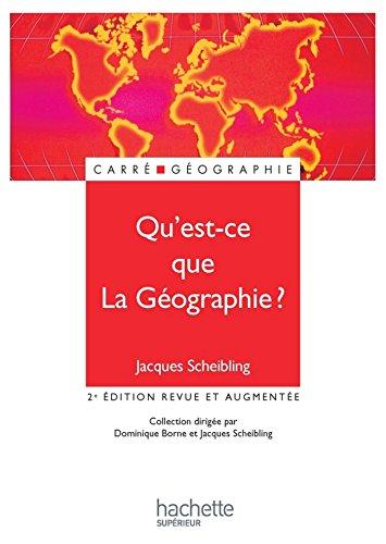 Qu'est-ce-que la géographie ? (Carré Géographie)