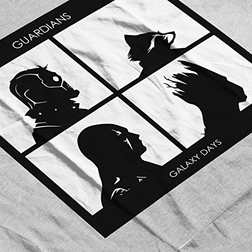 Guardians Of The Galaxy Days Gorillaz Album Art Women's T-Shirt Heather Grey