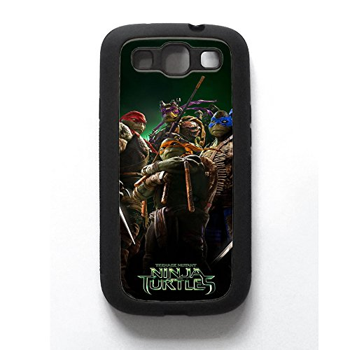 TMNT, T.M.N.T, Teenage Mutant Ninja Turtles, Samsung Galaxy S3 Phonecase Turtles Gummi (Gruppe Ninja Kostüme)
