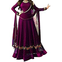 Crazy Women's Party Wear Anarkali Semi Stitched Gown For Women