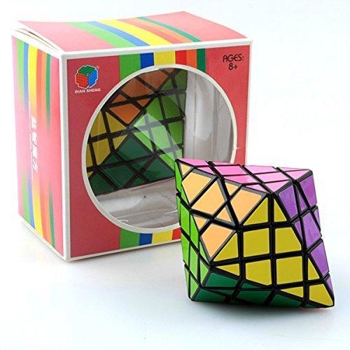 Diansheng cara girando octaedro, 7x7x7cm